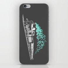 Butterfly Train iPhone & iPod Skin