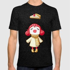 Cherry Pie Mens Fitted Tee Tri-Black SMALL