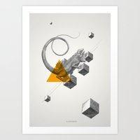 Archetypes Series: Elusiveness Art Print