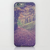 iPhone & iPod Case featuring Mountain Path by CMcDonald