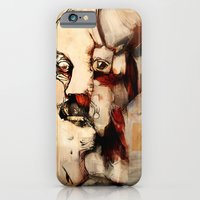 iPhone & iPod Case featuring Portrait of a Distracted Man by Timothy Andrew Wilson