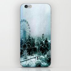 Cold Forest Playground iPhone & iPod Skin
