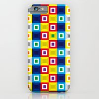 Squares Pattern iPhone 6 Slim Case