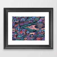 Loch Tess Framed Art Print