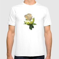 PREDATOR Mens Fitted Tee White SMALL