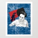 Joe Strummer: Sandinista/The Clash Art Print