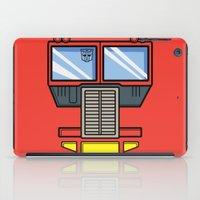 Transformers - Optimus Prime iPad Case