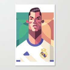CR7 | Los Merengues Canvas Print