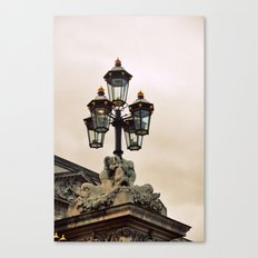 leave the light on Canvas Print