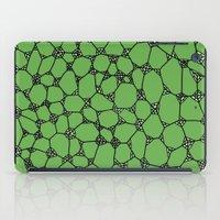 Yzor pattern 006-4 kitai green iPad Case