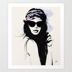 Infatuation - Digital Fashion Illustration Art Print