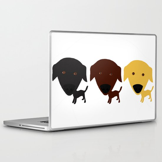 Labrador Retriever dog Laptop & iPad Skin