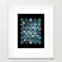 SquareTracts Framed Art Print
