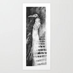 Undead Witch Art Print