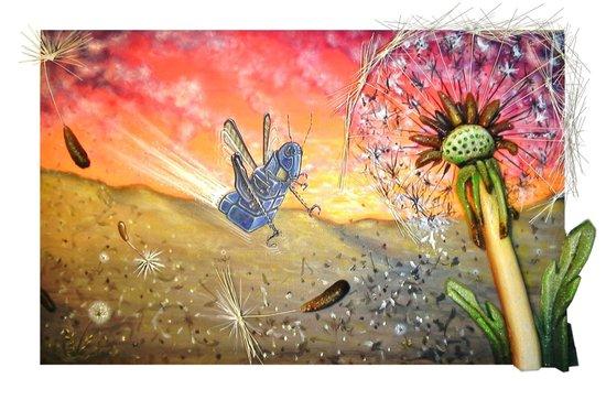 """""""Fertilizing Fumigation"""" Canvas Print"""