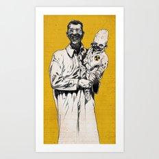 Nuclear Harmony Art Print