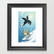 Afternoon A-Flight Framed Art Print