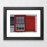 Old Window Study # 12 Framed Art Print