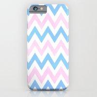 Blue Pink Chevron Patter… iPhone 6 Slim Case