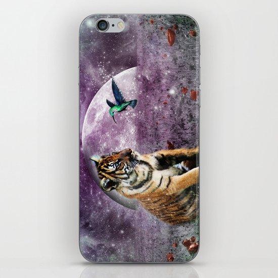 Tiger and Hummingbird iPhone & iPod Skin