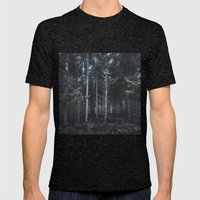 darkwood Mens Fitted Tee Tri-Black SMALL