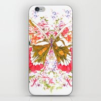 PAINTED BUTTERFLY iPhone & iPod Skin