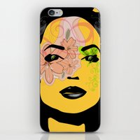 Mysterious Woman 1 iPhone & iPod Skin