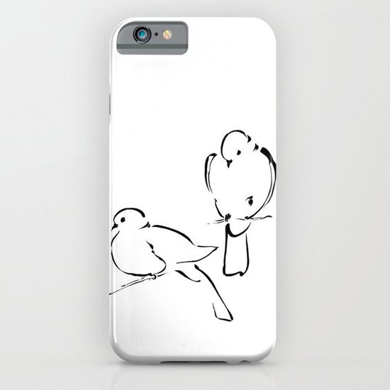 Ink Birds 02 iPhone & iPod Case