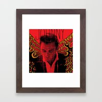 Wings Of Fire Johnny Cas… Framed Art Print