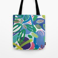 Secret Garden II Tote Bag