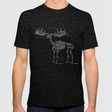 Dead Moose Mens Fitted Tee Tri-Black SMALL