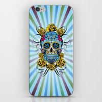 Sugar Skull- Day Of The … iPhone & iPod Skin
