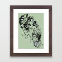 Hidden Home Framed Art Print