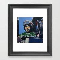 Fighter Pilot Framed Art Print