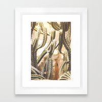 Cactus Jungle Framed Art Print