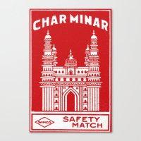 Wimco Match Canvas Print