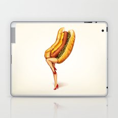 Hot Dog Girl Laptop & iPad Skin