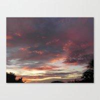 Canvas Print featuring Caribbean Sunset II by SmallIslandInTheSun