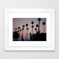 Hollywood Forever Cemete… Framed Art Print