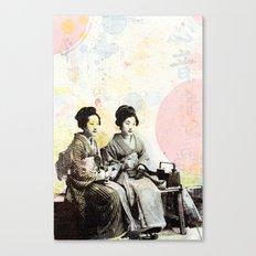 Bench Float Canvas Print