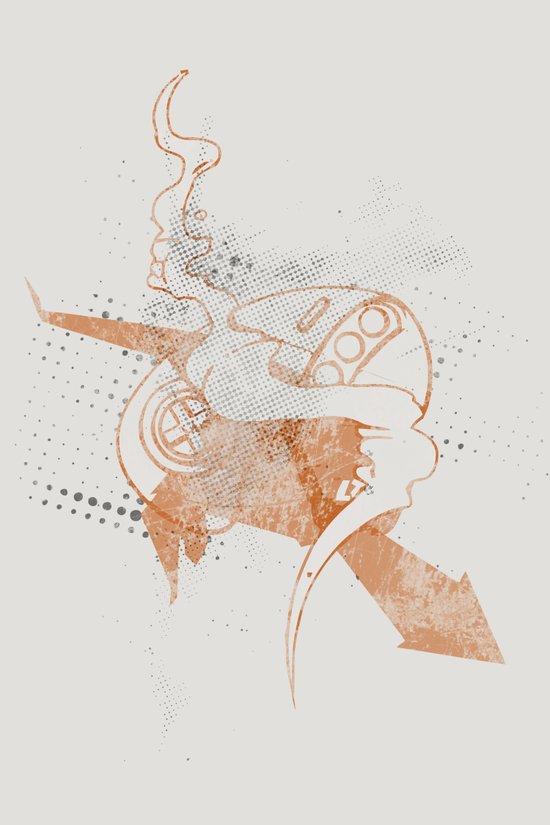 Take Ctrl Megadrive Art Print
