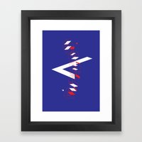 Space Faring Framed Art Print