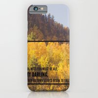 Darling, Autumn Leaves A… iPhone 6 Slim Case