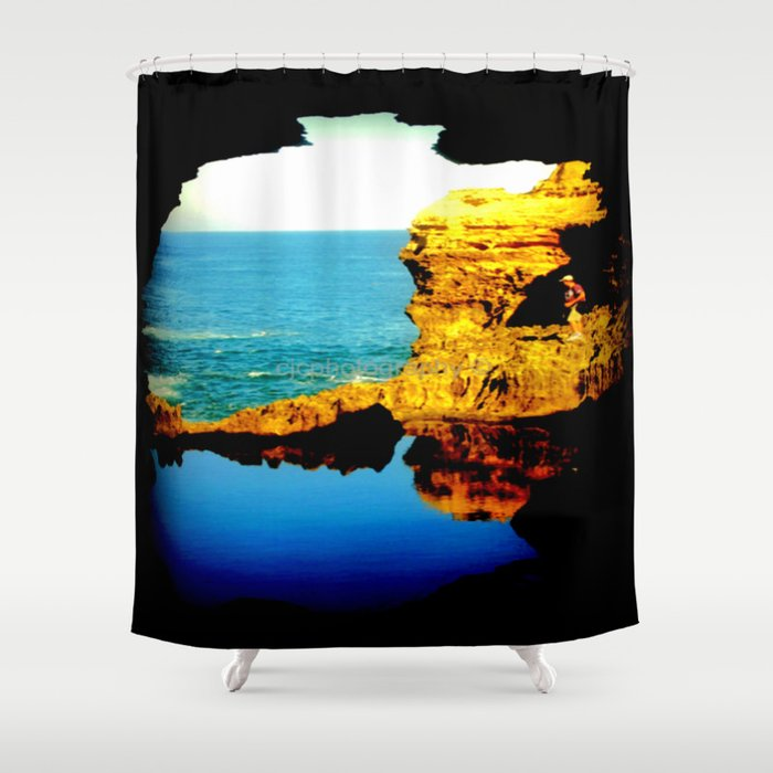 The Grotto 2 Shower Curtain