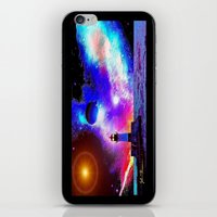 Lighthouse To The Stars iPhone & iPod Skin