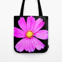 Cosmos Flower Photograph… Tote Bag