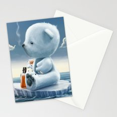 Derek The Depressed Bear Stationery Cards