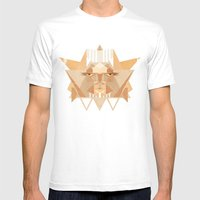 Leothelion Mens Fitted Tee White SMALL