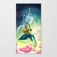 Whale Rider (#282 From M… Canvas Print