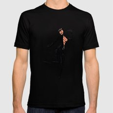 Catwoman SMALL Black Mens Fitted Tee